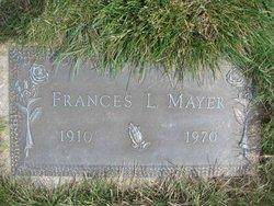 Frances Lucille <I>Waugh</I> Mayer