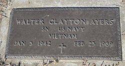 "Walter Clayton ""Buddy"" Ayers"