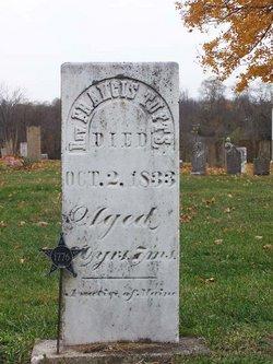 Rev Francis Tufts