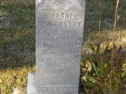 Johannes <I>Olsen</I> Estby