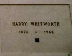 Harry Whitworth
