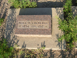 Alice Robinson <I>Hawkins</I> Cockerill