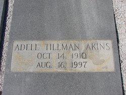 Adell <I>Tillman</I> Akins