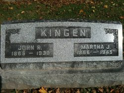 "Martha Jane ""Mattie"" <I>Roberts</I> Kingen"
