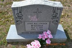 Annie Mae <I>Lonidier</I> McKethan