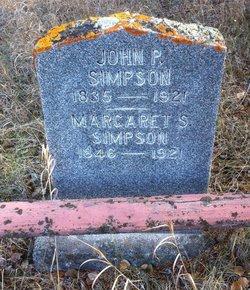 Margaret Susan <I>Sullivan</I> Simpson