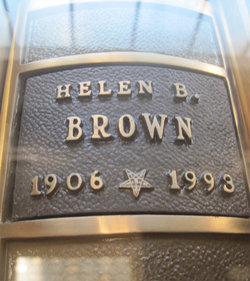 Helen Beyrle <I>Zigler</I> Brown