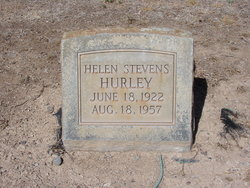 Helen <I>Stevens</I> Hurley