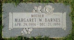 Margaret Wilson <I>Lamb</I> Barnes
