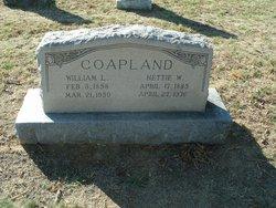 """William L. """"Val"""" Coapland"""
