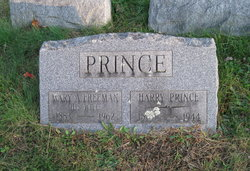 Mary A. <I>Freeman</I> Prince