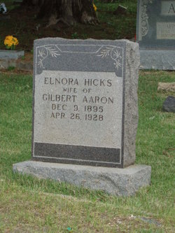 Elnora <I>Hicks</I> Aaron