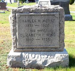 Elizabeth P <I>Wing</I> Morse