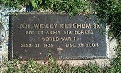 Joe Wesley Ketchum, Sr