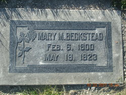 Mary Luella <I>Maxfield</I> Beckstead