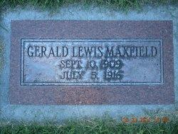 Gerald Lewis Maxfield