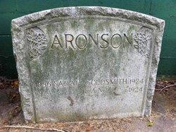 Sarah <I>Goldsmith</I> Aronson