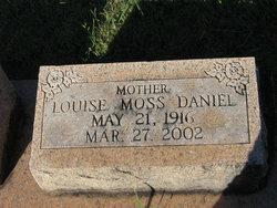 Louise <I>Moss</I> Daniel
