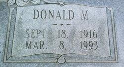 Donald M Blair