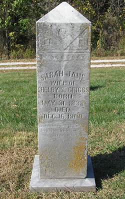 Sarah Jane <I>Rose</I> Griggs