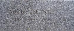 Addie Lee <I>Witt</I> Brown