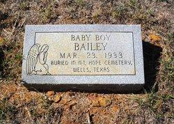 Baby Boy Bailey