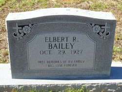 Elbert Ray Bailey