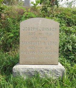 Margaret B. <I>Lord</I> Johnson