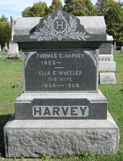 Ella E. <I>Wheeler</I> Harvey
