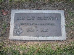 Lois May <I>Haley</I> Crawford