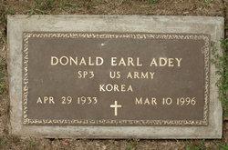 Donald Earl Adey