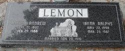 Irena <I>Ralphs</I> Lemon