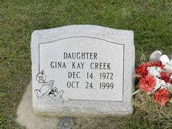 Gina Kay Creek