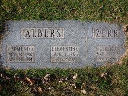 Clementine Philomena <I>Zerr</I> Albers