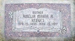 Amelia Maria <I>Andersen</I> Reeves