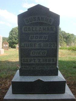 Susanna <I>Cornett</I> Callahan