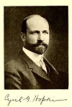 Dr Cyril George Hopkins
