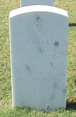 Donald Carroll Garrison