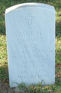 Paul H Garvey, Jr