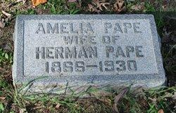 Amelia Pape