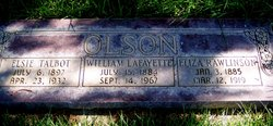 Eliza Caroline <I>Rawlinson</I> Olson