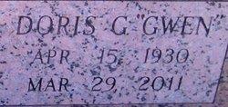 """Doris G """"Gwen"""" Barber"""