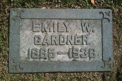 Emily <I>Wilson</I> Gardner
