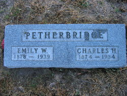 Emily Wealthy <I>Cook</I> Petherbridge
