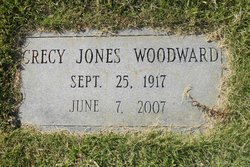 Crecy Mae <I>Jones</I> Woodward