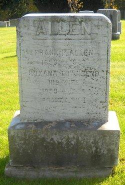 Roxana <I>Townsend</I> Allen