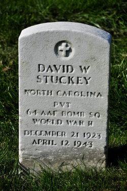 PVT David W Stuckey