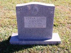 Verna <I>Cobb</I> Johnson
