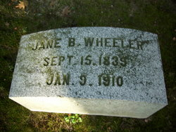 Jane B. <I>Toncrey</I> Wheeler