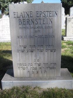 Elaine <I>Epstein</I> Bernstein